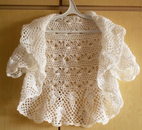 Crochet Cardigan/Bolero ? Crochet Kingdom