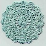 Circular Motif Crochet Diagram Free