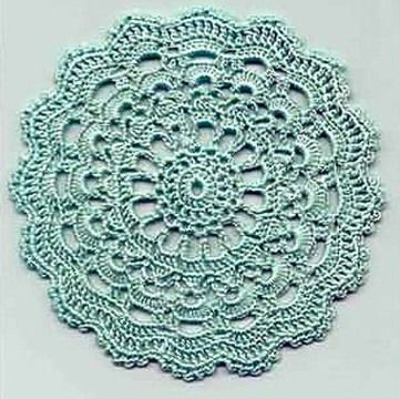 Crochet Circle : crochet-circle-motif-diagram