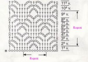 crochet-diamonds-stitch-pattern
