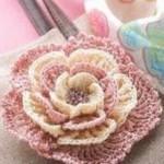 Multi-Layered Crochet Flower