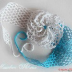 Crochet Flower and Headband