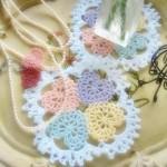 Crochet Hearts Doily Pattern