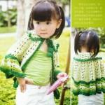 Kids Crochet Cape