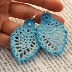 Crochet Pineapple Earrings Pattern