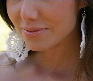 crochet pineapple earrings pattern