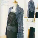 Square Motif Crochet Shrug