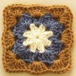 Pretty and Simple Crochet Square Pattern