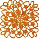 Crochet Square Pattern Motif