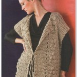 Simple Crochet Vest Pattern