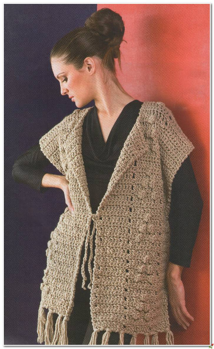 Simple Crochet Vest Pattern Crochet Kingdom