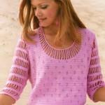 Delicate Crochet Blouse Pattern
