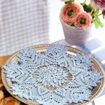 Light Blue Crochet Doily Pattern