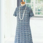 Delicate Fan Mod Crochet Dress