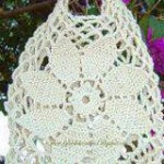 Big Flower Crochet Bag