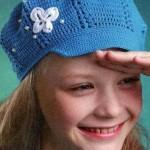 Crochet Girl's Cap Pattern