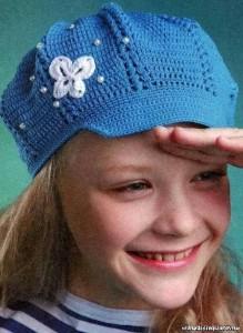 girls crochet hat pattern