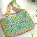 Cute Granny Square Crochet Bag
