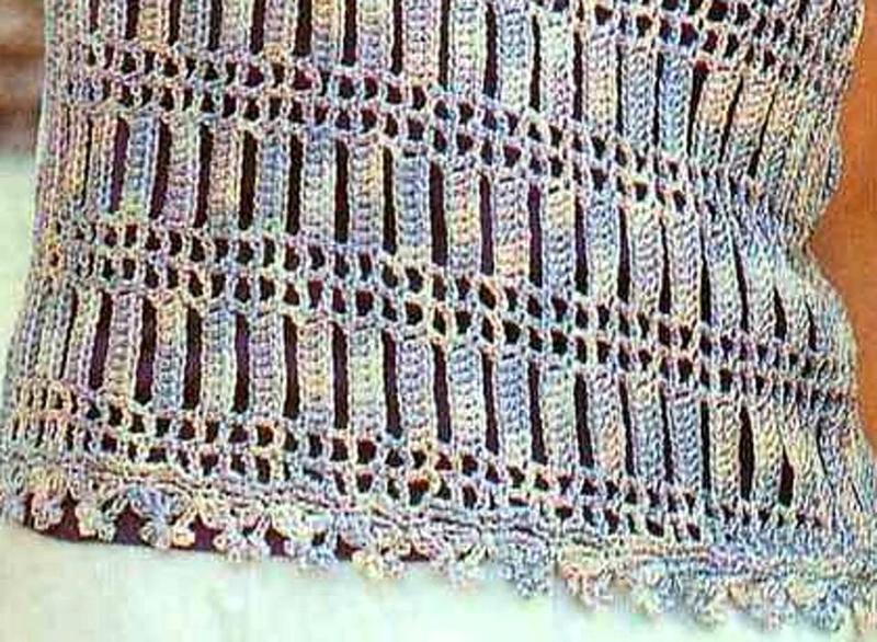Vertical Crochet Tank Pattern Crochet Kingdom