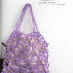 Flower Lace Mesh Crochet Bag Pattern