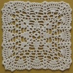 Lace Crochet Square