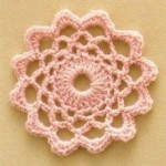Lace Flower Crochet Motif
