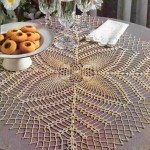 Large Square Crochet Doily