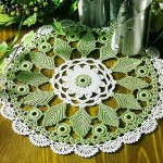 Leaf Doily Crochet Pattern
