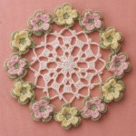 Little Flowers Crochet Doily