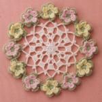 Little Flowers Crochet Doily