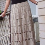 Simple Elegant Crochet Skirt