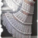 Beautiful Crochet Skirt