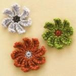 Many Petal Flower - Crochet Pattern