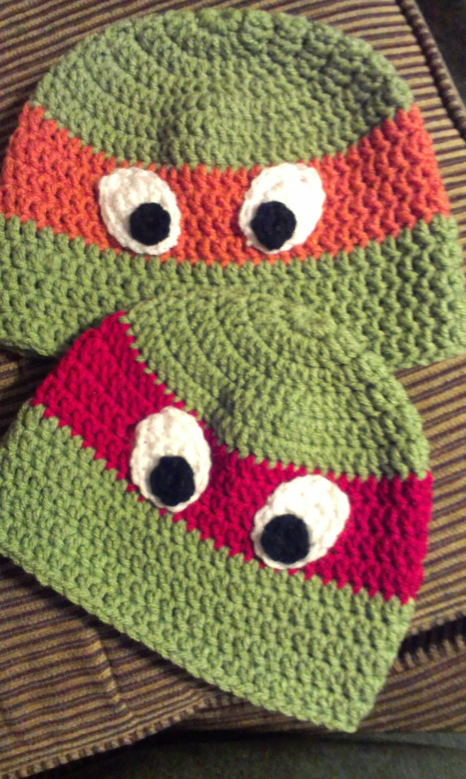 Ninja turtle hat crochet pattern for free crochet kingdom ninja turtle hat pattern bankloansurffo Images