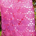 Crochet Fan Skirt Stitch and Pattern