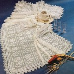 Rose Crochet Tablecloth