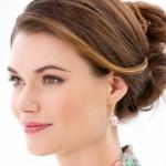 Crochet Rosebud Earrings Pattern