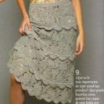 Ruffled Crochet Skirt Pattern