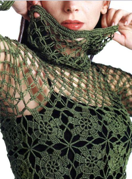 Sexy Crochet Lace Top Pattern Crochet Kingdom