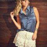 Short Crochet Lace Skirt Pattern