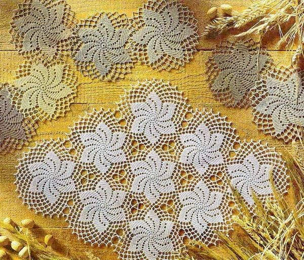 Small Circular Doily ⋆ Crochet Kingdom