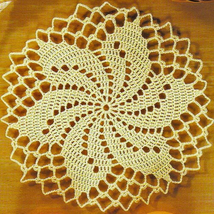 Small Circular Doily Crochet Kingdom
