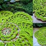 Spiral Flower Doily Crochet