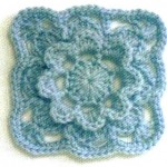 Square and Flower Crochet