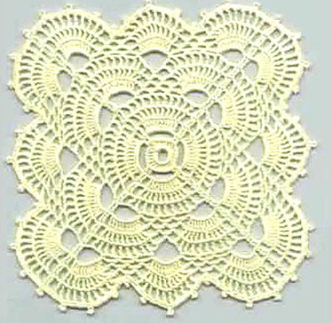 Crochet Patterns For Motifs : Four Free Square Crochet Motifs ? Crochet Kingdom