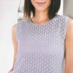 Crochet Lace and Pineapple Top