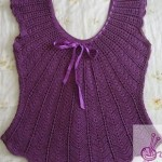 Crochet Chevron Summer Top
