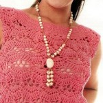 Simple Sleeveless Crochet Top