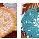 Two Stunning Doilies