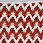 Little Relief Chevron Crochet Stitch